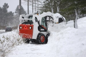 Bob Cat Snow Removal